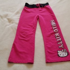 Hello Kitty sweatpants, good condition